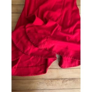 revolve Pants - NBD Shirley Temple Flare in Red Rose